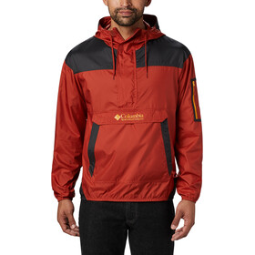 Columbia Challenger Windbreaker Jas Heren, carnelian red/shark/bright gold